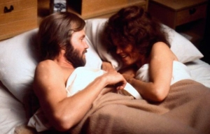 Jon Voigt and Jane Fonda in bed together in Coming Home, the 1978 film.
